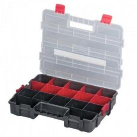 """Пластиковый органайзер для инструментов Intertool Bx-4021 14,5"""" 375х280х67 мм"""