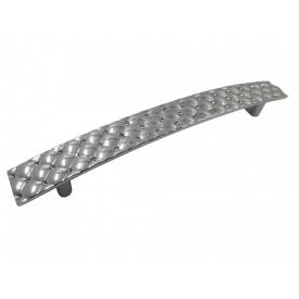 Мебельная ручка FENIX каретная стяжка 128 мм хром