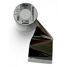 Алюмінієва клейка стрічка DELTA-POLY-BAND P100 100 мм 100 м