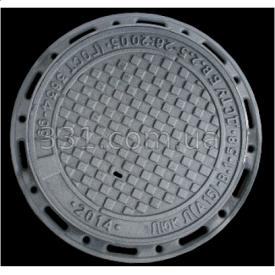 Люк чугунный канализационный легкий типа ПЛ А15 ПР с замком 760 мм ИМПЕКС-ГРУПП (IMPA634)