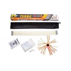 Роторний набір для чищення димоходів Savent TURBO 1 м х 4 шт