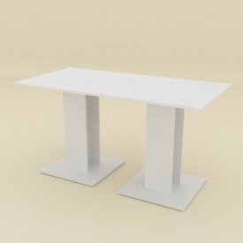 Кухонний стіл Компаніт КС-8 700х736х1400 мм німфея альба