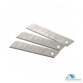 Лезвие для ножей 18 мм 10 шт сталь