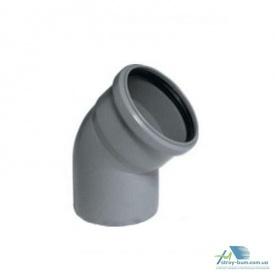 Колено Plastimex 110х45 мм