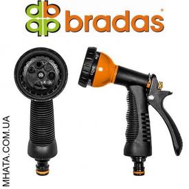 Пистолет для полива PROFI металлический BRADAS ECO-KT615 7 режимов