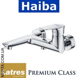 Смеситель для ванны короткий нос HAIBA LATRES Atrio Chr-009