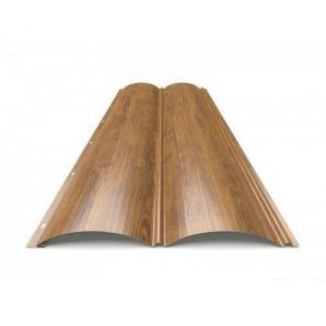 Металлический сайдинг Блок-Хаус тип 1 Ольха