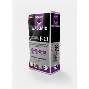 Клеевая смесь WALLMIX F-11 для крепления и армирования пенополистирольных плит 25 кг