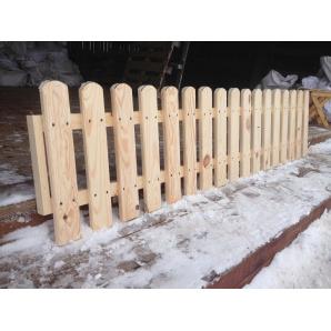 Забор садовый 0,5х2 м