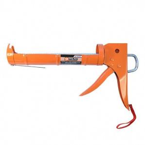 Пистолет для силикона с трещоткой POLAX