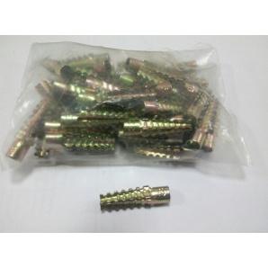 Анкер для газобетона Baufix 6x32 мм желтый цинк