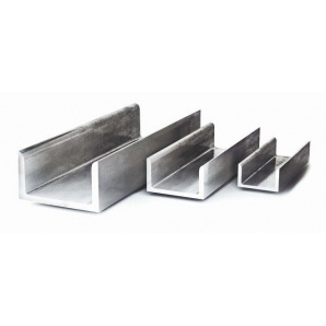 Швеллер алюминиевый АД31 13х15х1,5 мм ан/бп