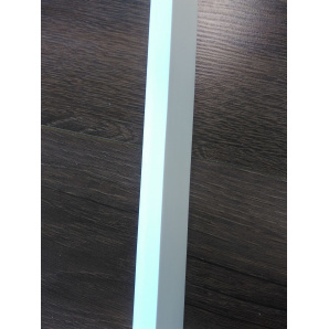Угол декоративный 20х20х2750 мм белый