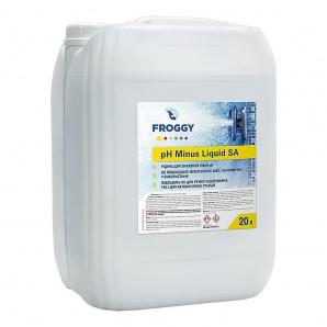 Химия для басейнов PH минус  жидкий 20 л PH- Minus Liquid SA FROGGY серная кислота 35%