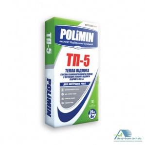 Гипсовая самовыравнивающаяся смесь Polimin TP-5 25 кг