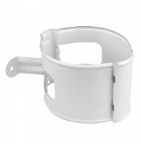 Тримач труби Aкведук Преміум 100 мм білий RAL 9010