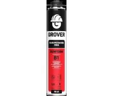 Монтажна піна професійна вогнетривка GROVER FR 45 (B1) 750 мл