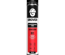 Монтажная пена профессиональная огнеупорная GROVER FR 45 (B1) 750 мл