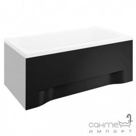 Передня панель для прямокутної ванни Polimat 170x52 см 00858 чорна