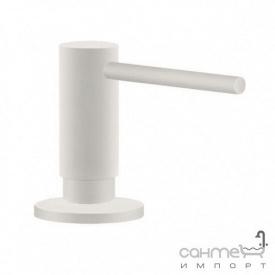 Дозатор жидкого мыла Franke Active Plus Super Metallic SD 119.0547.905 белый матовый