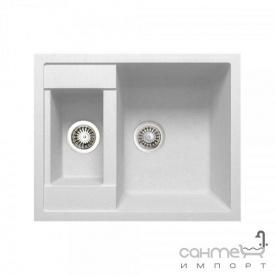 Кухонная мойка Adamant Duplex 01 белая