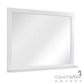 Дзеркало з поличкою Аква Родос Ліана 100 біле