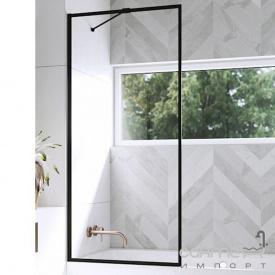Шторка для ванни Radaway Modo New Black PNJ Frame 80 10006080-01-01 профіль чорний/прозоре скло