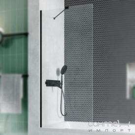Шторка для ванной Radaway Modo New Black PNJ 100 10006100-54-01 черный/прозрачное стекло