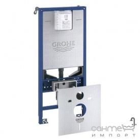 Инсталляция для подвесного унитаза-биде + прокладка Grohe Rapid SLX 39598000