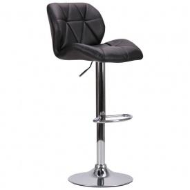Барний стілець Vensan чорний без канта