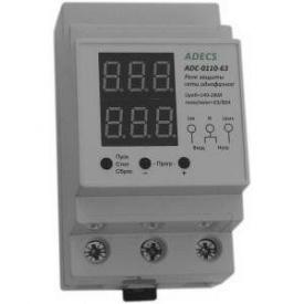 Реле контроля напряжения и тока Adecs ADC-0110-63