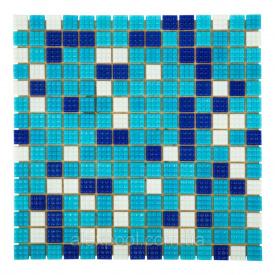 Мозаїка, скляна, Aquaviva Bahama Dark Багама темна А N 20