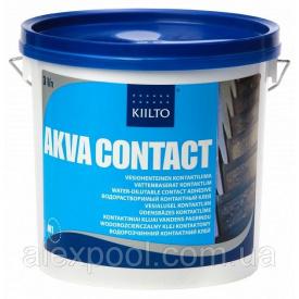 Клей Kiilto Akva Contact 3 кг-водорозчинний контактний клей
