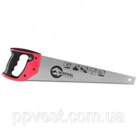 Ножовка по дереву с каленым зубом INTERTOOL HT-3105