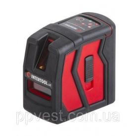 Уровень лазерный мини 2 лазерные головки INTERTOOL MT-3050