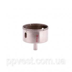 Сверло алмазное трубчатое по стеклу и керамике 55 мм INTERTOOL SD-0370