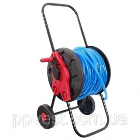 Котушка на колесах для шлангу 12 60м INTERTOOL GE-3001