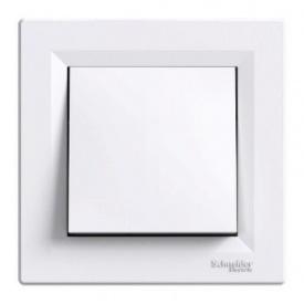 Кнопочный выключатель белый Schneider electric Asfora