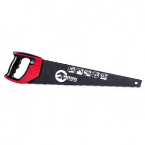 Ножовка по дереву с тефлоновым покрытием INTERTOOL HT-3109