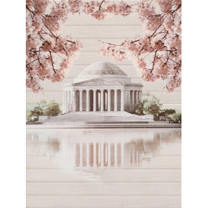 Керамогранитная плитка настенная Cersanit Sakura Panno Palace 450х600х8,5 мм