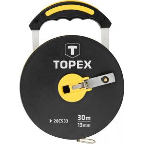 Лента измерительная TOPEX из стекловолокна 30 м (28 C 533)