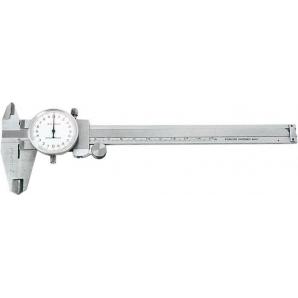 Штангенциркуль механический TOPEX с аналоговой индикацией р 150 мм (31 C 627)