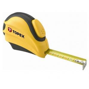 Рулетка Topex стальная лента 5мx19мм (27C385)