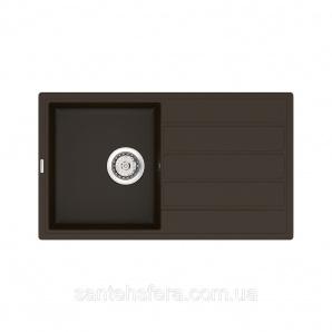 Кухонная мойка VANKOR Easy EMP 02.76 Chokolate