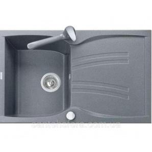 Кухонная гранитная мойка ADAMANT NEW LINE 790x500x235 мм серая