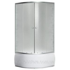 Душевой угол Sansa S-80/40 80х80х196 см профиль сатин стекло шиншилла