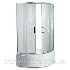 Душевой угол Sansa SH-90/45 90х90х210 см профиль brushed стекло матовое-мозаик