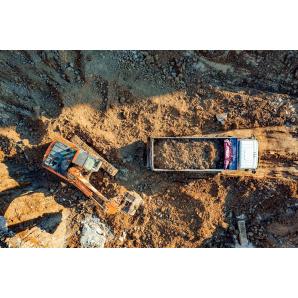 Разработка котлована спецтехнкой с вывозом грунта