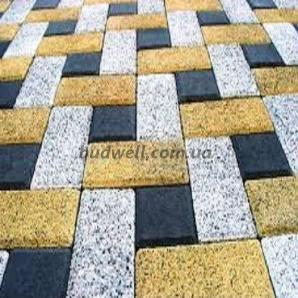 Тротуарна плитка Колекція Меланж Цегла