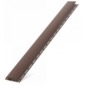 H - профіль BRYZA коричневий / RAL 8017 3000 х 85 мм